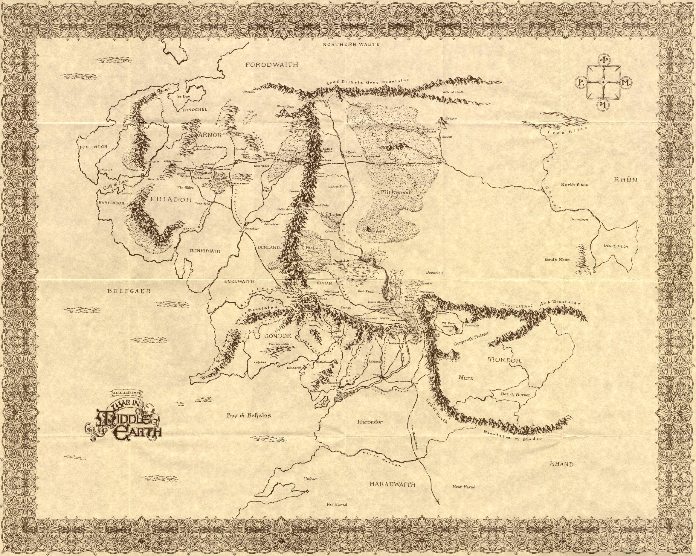 Obrazky K Tolkienovym Knizkam