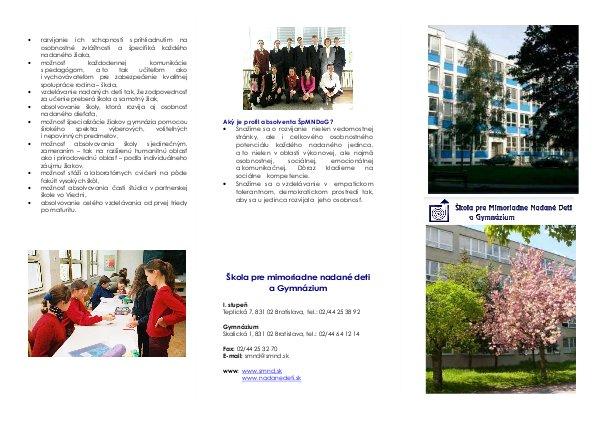 Bulletin, slovenská verzia