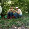 Miška ukazuje Stele fotky