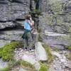 Šandyna pod Kláštorskou skalou