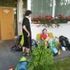 Samo a Enka na handlovskej stanici