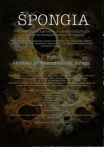 Špongia - plagát